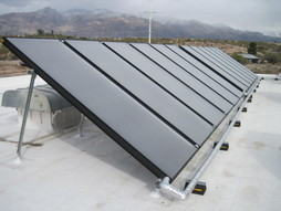 Solar hot water systems for businesses