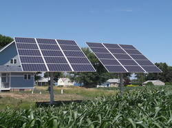 Electric solar energy systems benefit the economy