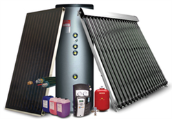Components of solar hot water systems