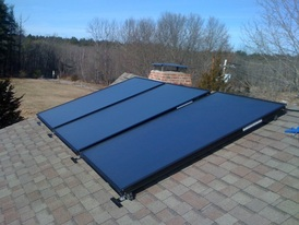 Sizing a new solar hot water heater system