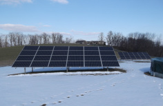 Snow and your solar system panels