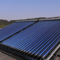 Types of solar thermal systems
